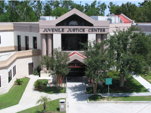 An image of the Jefferson Parish Juvenile Courthouse.
